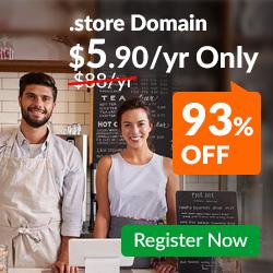 .STORE Domain Promo
